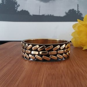 1PC Authentic African Brass Bangle Bracelet